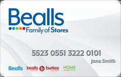 Bealls Credit Card graphic