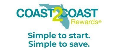 Enroll today to start saving and earning Coast2Coast rewards.