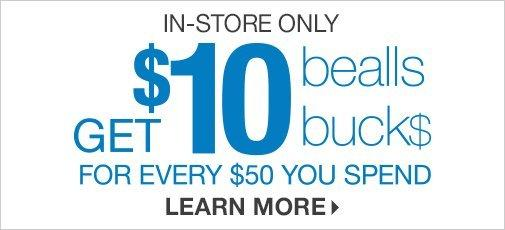 picture relating to Bealls Printable Coupons identified as Bealls Florida Coupon codes - Inside-Shop and On-line Specials