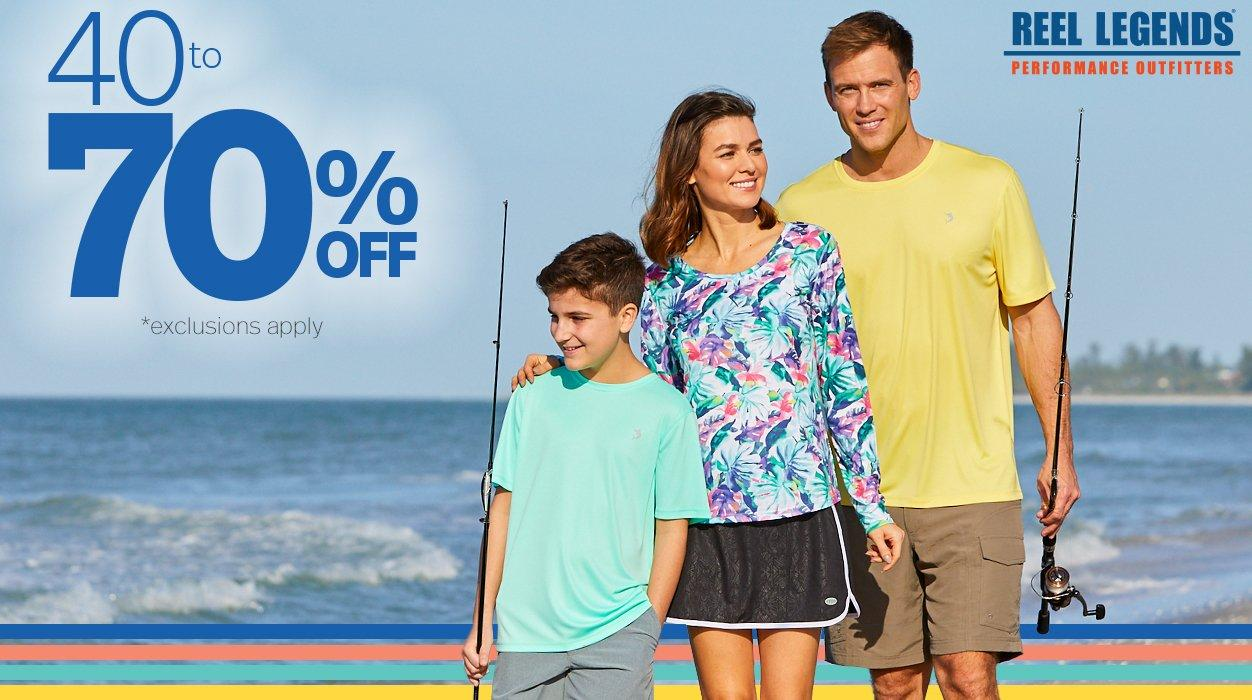 40 to 70% Off* | *Exclusions Apply