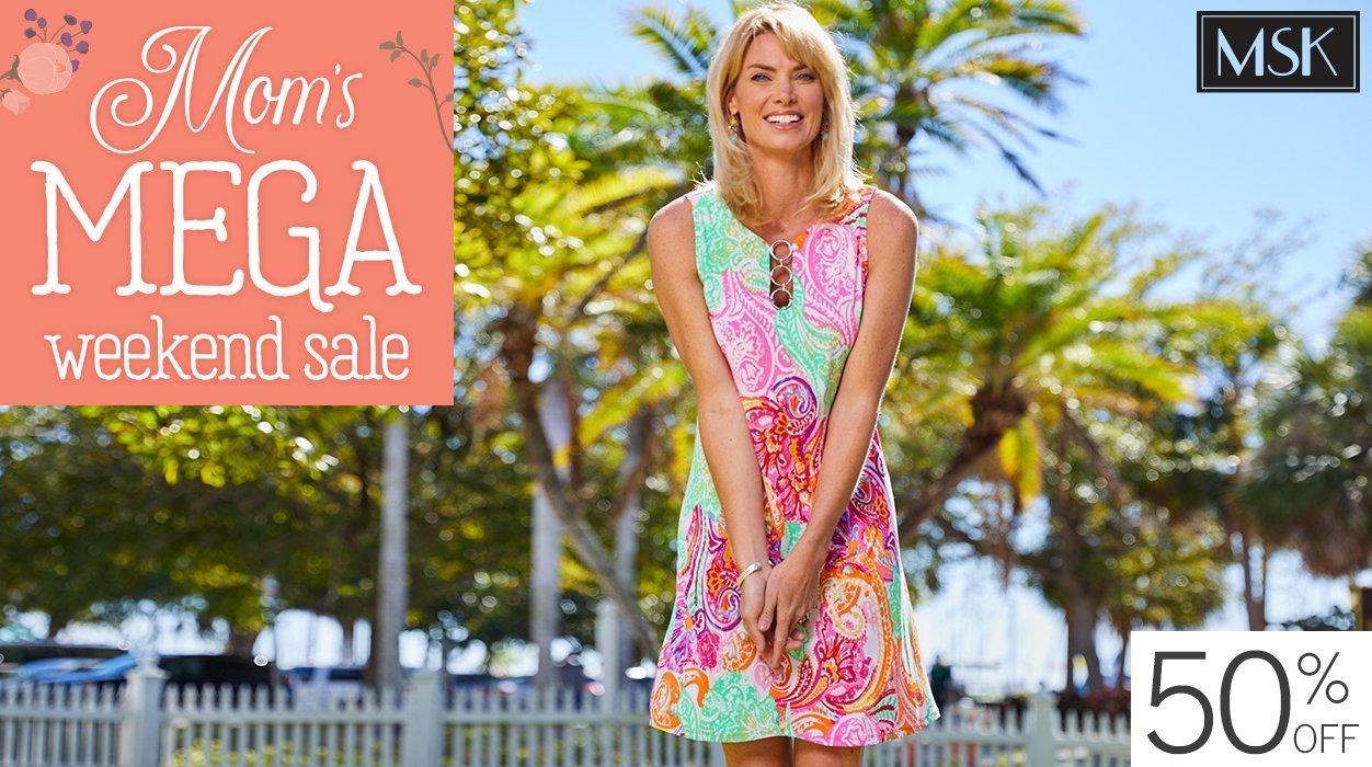 03563bef9cdd Mom s Mega Weekend Sale - 50% Off MSK Dresses
