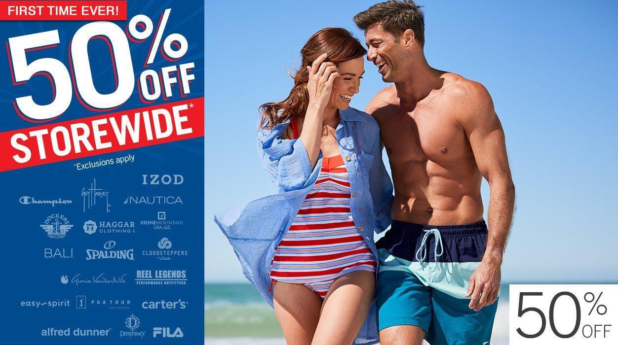 2171d13fe 50% Off Storewide. Swimwear ...