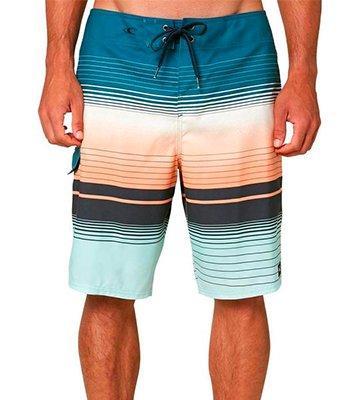 SHOWNO Mens Drawstring Print Summer Slim Boarshorts Beach Shorts Swim Trunk