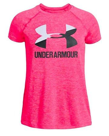 Under Armour Baby Girls Love To Win T Shirt Shorts 2 PC Set Outfit 12 18 MO New