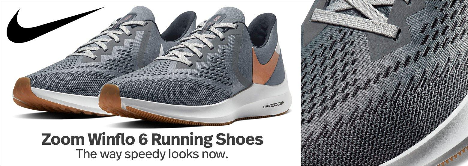 Nike Zoom Winflo 6 Running Shoes - The way speedy looks now.