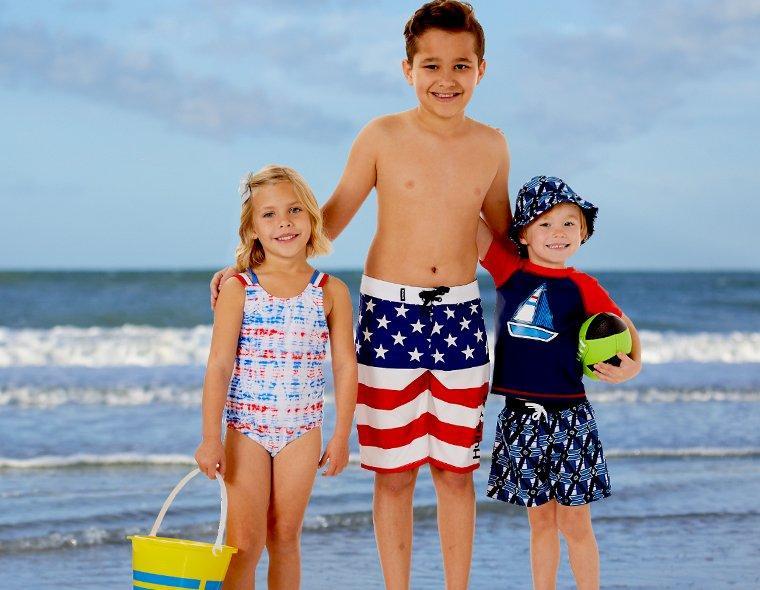 Fort Game Kids Toddles Swimwear Swimming Beach Boys Teenagers Swim Shorts