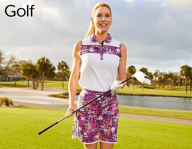 Ladies' Golf Apparel