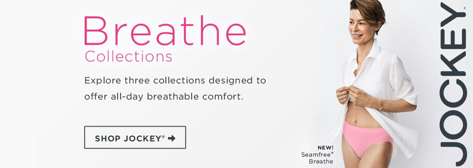 Breathe Collections from Jockey - Shop Now