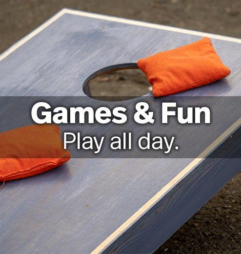 Games & Fun - Play all day.