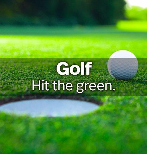 Golf - Hit the green.