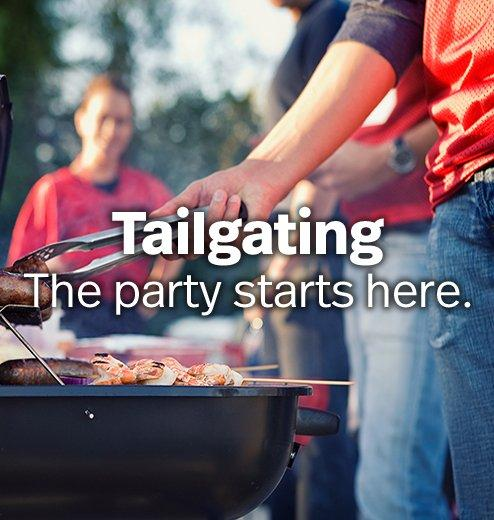 Tailgating - The party starts here.
