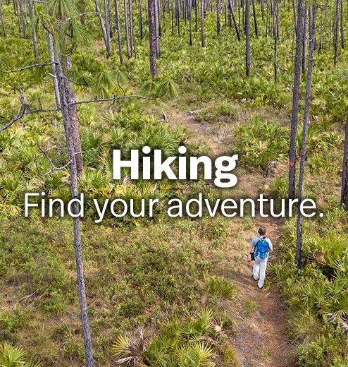 Hiking - Find your adventure.