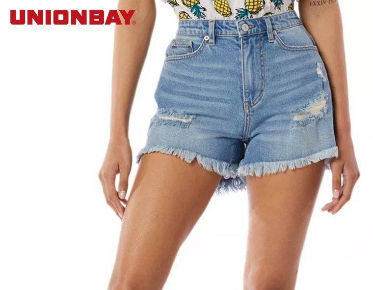 Unionbay Juniors Ripped & Frayed Shorts