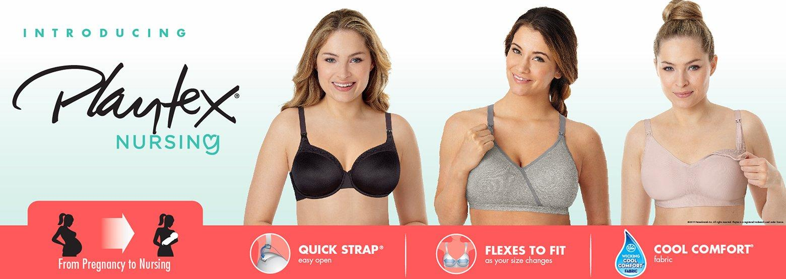 Introducing Playtex Nursing - From Pregnancy to Nursing