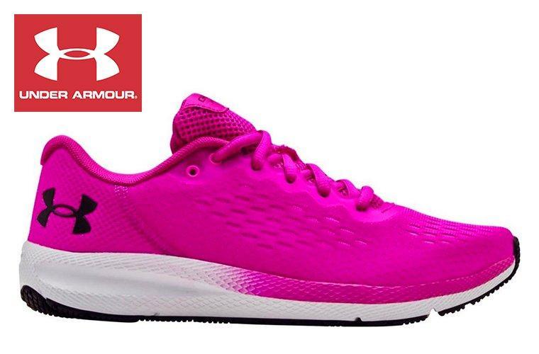 Under Armour Pink Running Shoe