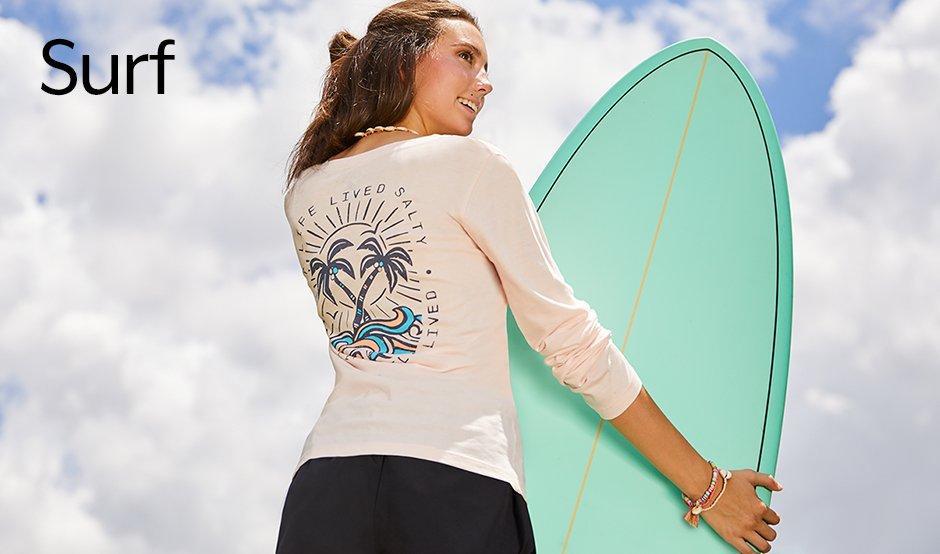 Surf long sleeves tshirt