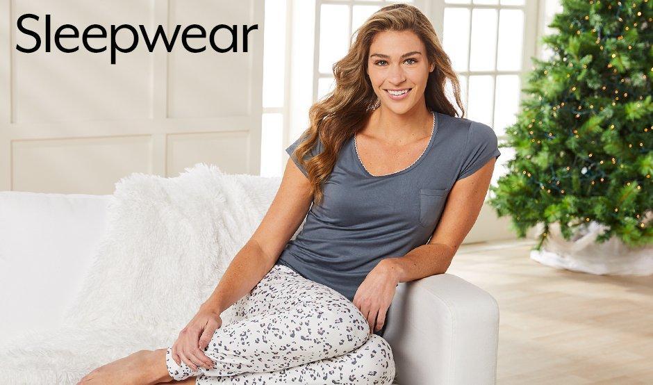 Womens Painted Floral Pajama Pants Set